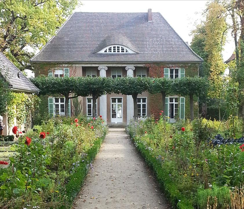 Liebermann-Villa. Der Nutz- und Staudengarten