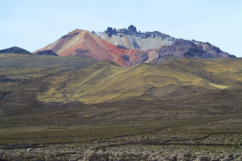 Vulkan Tunupa mit Kraterregion