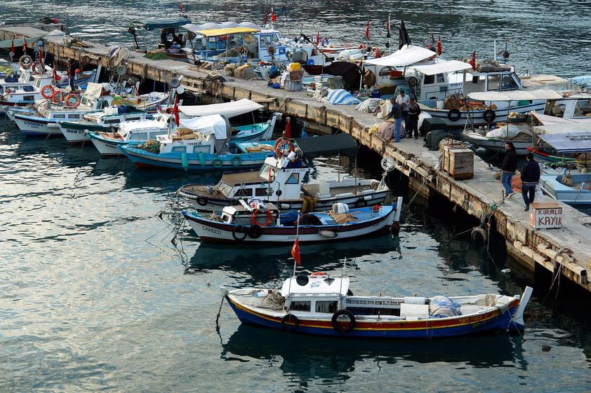 Im Alten Hafen von Antalya