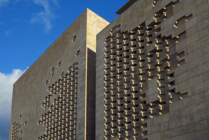 Fassade des Neuen Parlaments (Entwurf Renzo Piano)