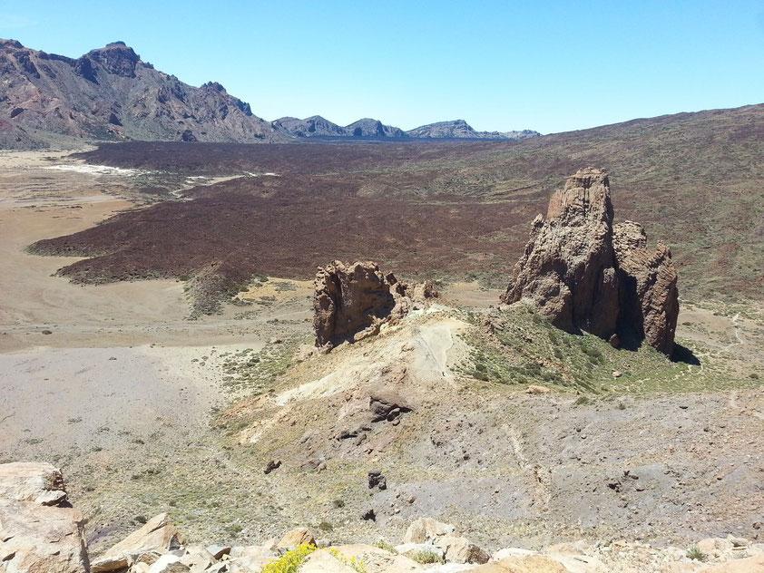Las Canadas de Teide, Ucanca-Ebene