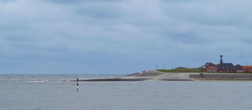 Anfahrt zur Insel Baltrum