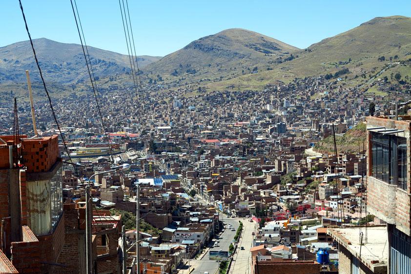 Blick über Puno