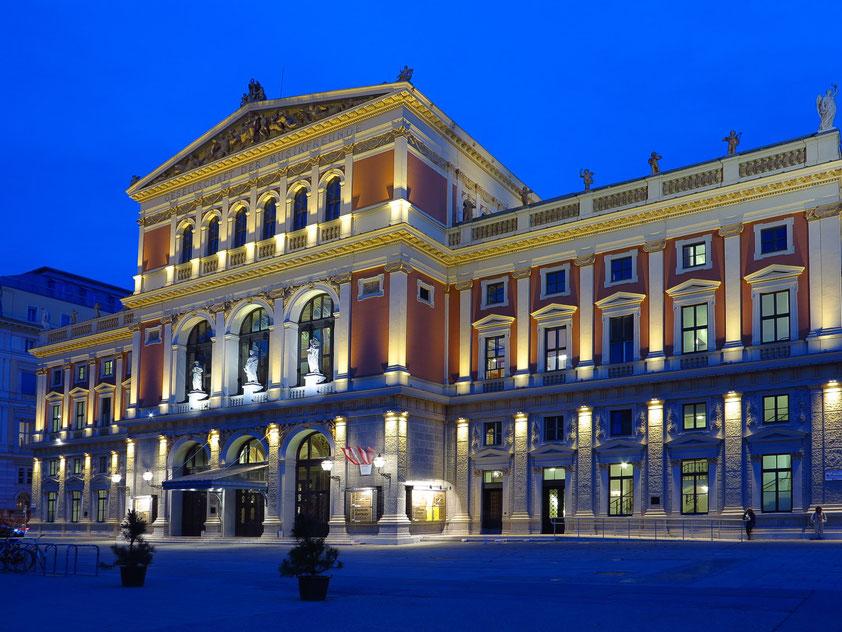 Traditionsreiches Konzerthaus des Wiener Musikvereins