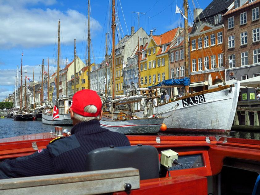 Kopenhagen. Hafen- und Kanalfahrt ab Nyhavn