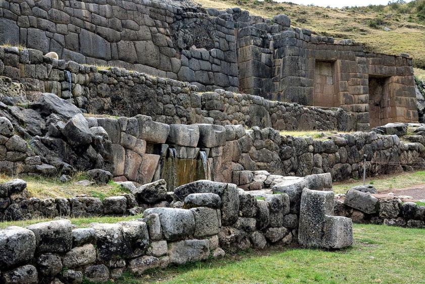 Tambo Machay, ein Wasserheiligtum bei Cuzco aus der Inka-Zeit.