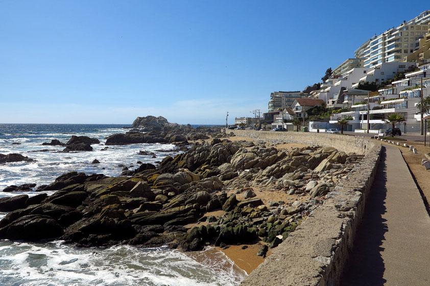 Küste von Vina del Mar