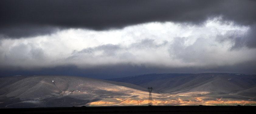 Zentralanatolien zwischen Konya und Kayseri (ca. 2 Stunden Autofahrt nordöstlich von Konya)