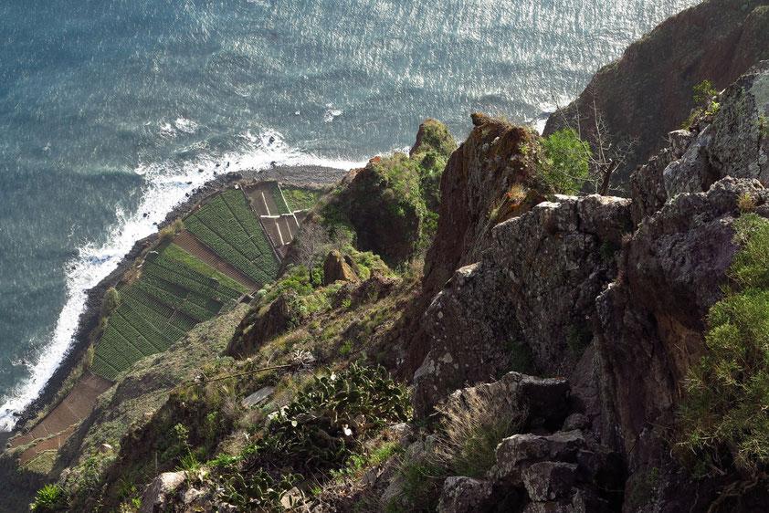 Cabo Girao. Schwindelerregender Blick von Europas höchster Klippe, 580 m