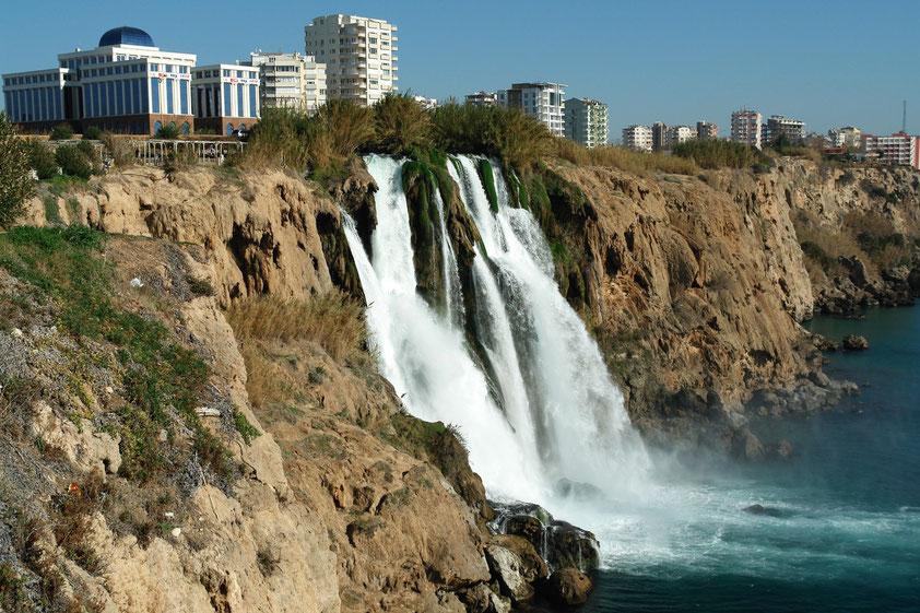 Untere Düden-Wasserfälle in Antalya