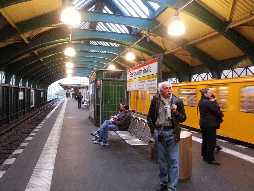 U-Bahnhof Eberswalder Straße/Prenzlauer Berg