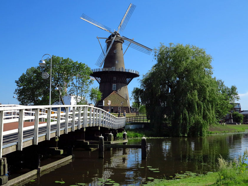 Leiden, Molen De Valk