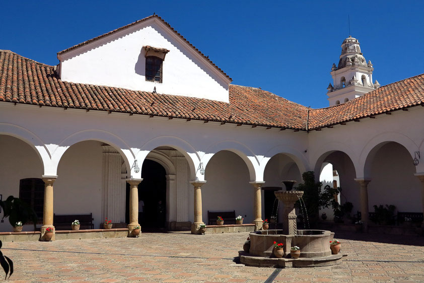 Im Atrium der Casa de la Libertad