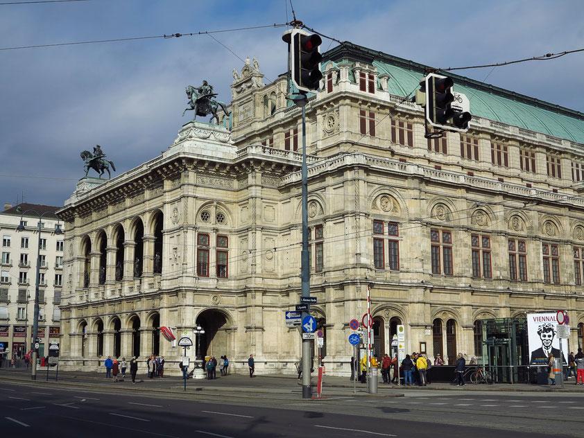 Wiener Staatsoper, am 25. Mai 1869 mit einer Premiere von Don Giovanni von Mozart eröffnet