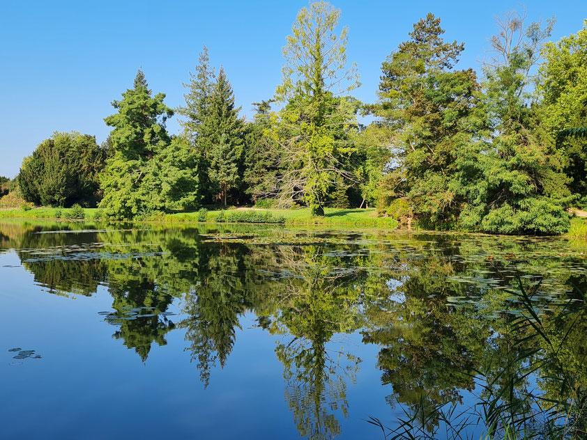 Park- und Seenlandschaft des Wörlitzer Gartenreichs