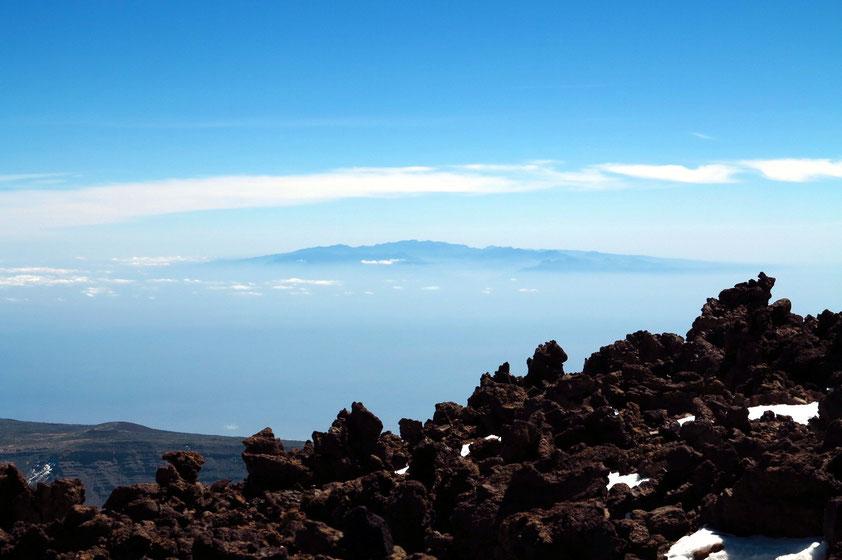 Blick vom Teide nach Gran Canaria