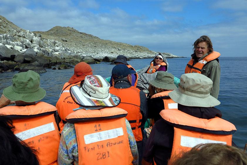 Bootsfahrt zur Insel Pan de Azucar