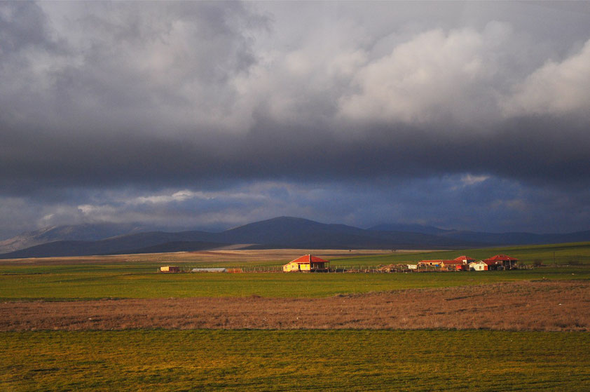 Zentralanatolien zwischen Konya und Kayseri (ca. 4 Stunden Autofahrt nordöstlich von Konya)