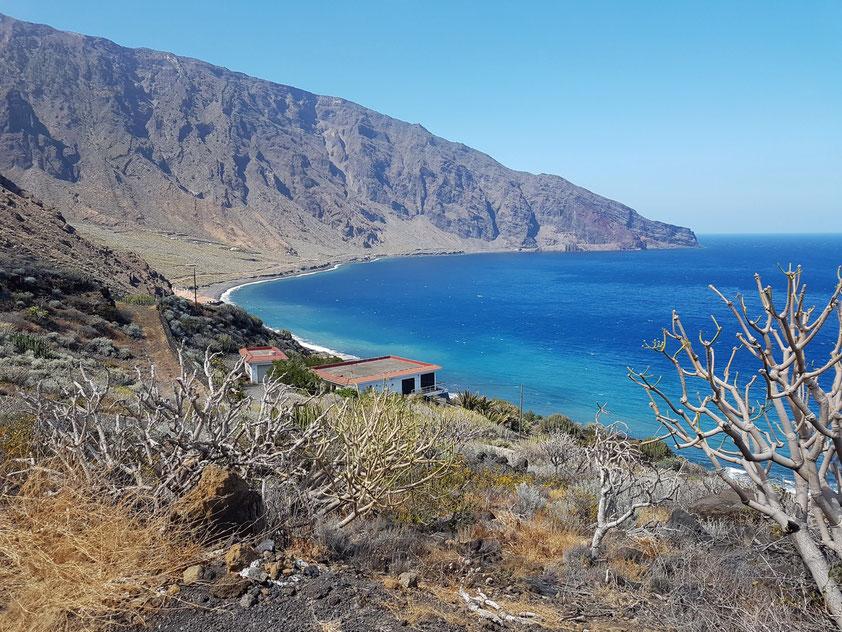 Wohnen am Ende der Welt, Blick auf Las Playas