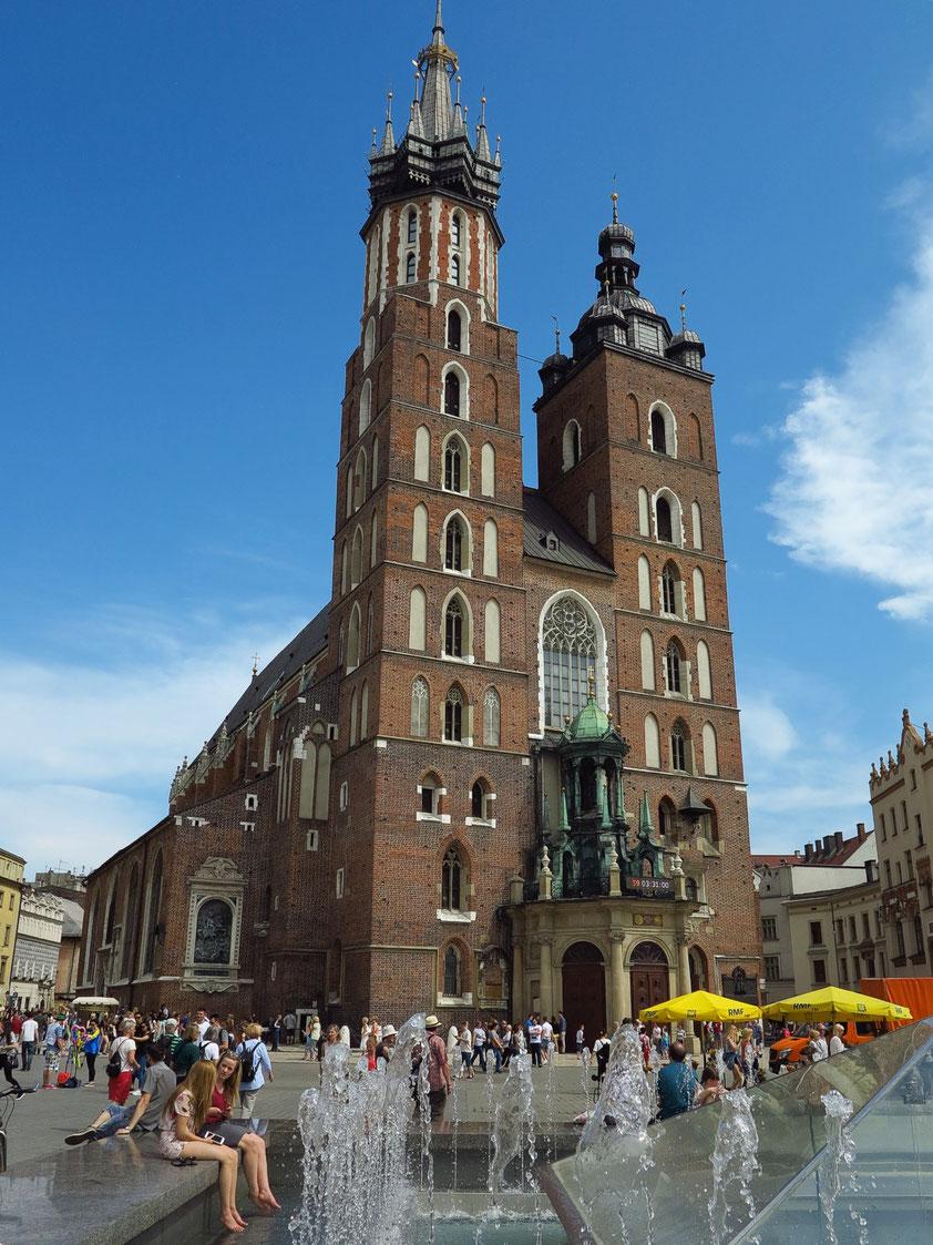 Marienkirche, Ende des 13. bis zum Beginn des 15. Jahrhunderts erbaut