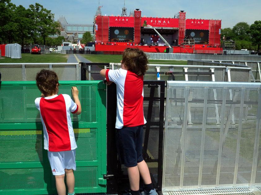 Fans von Ajax Amsterdam
