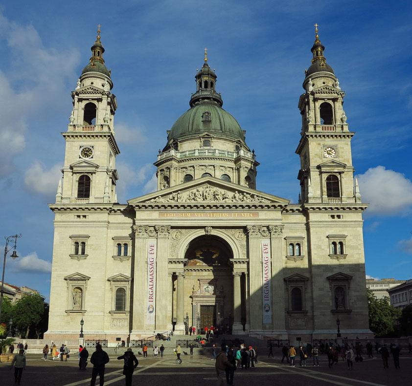 St.-Stephans-Basilika, Portalfront