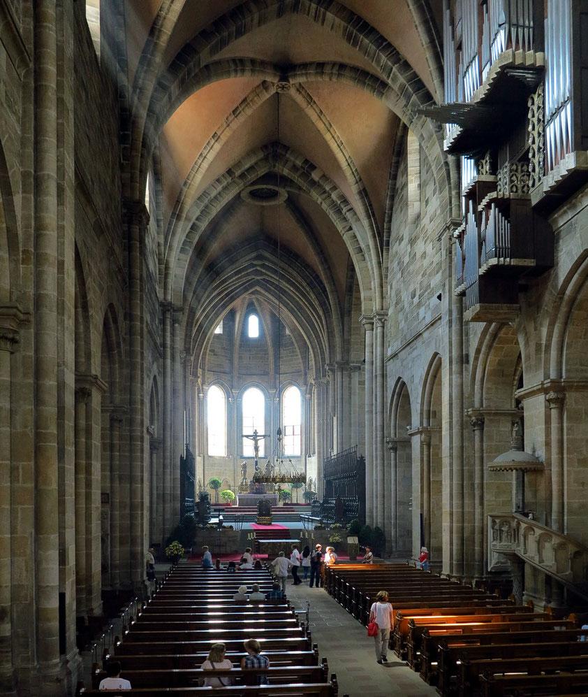 Bamberger Dom, Mittelschiff