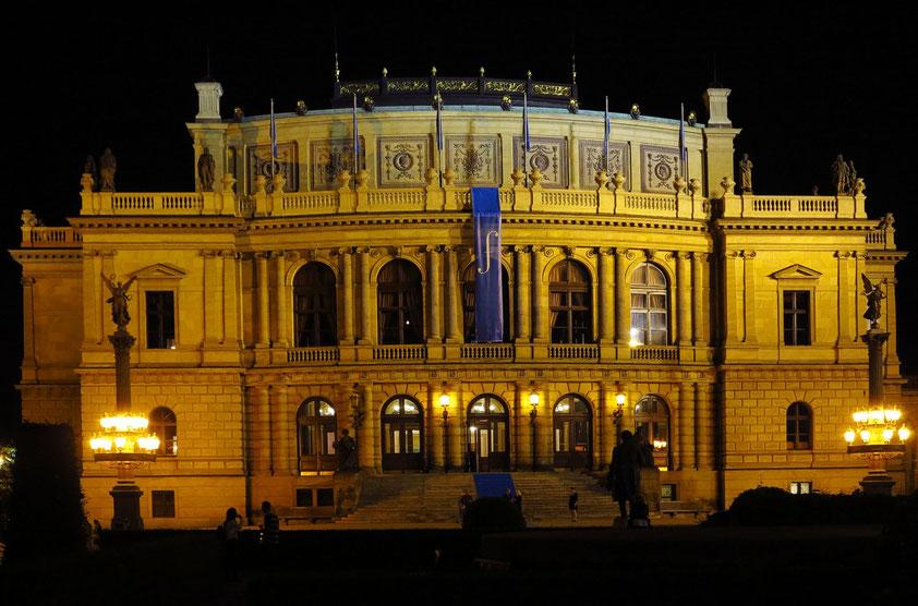 Rudolfinum, Sitz der weltbekannten Tschechischen Philharmonie