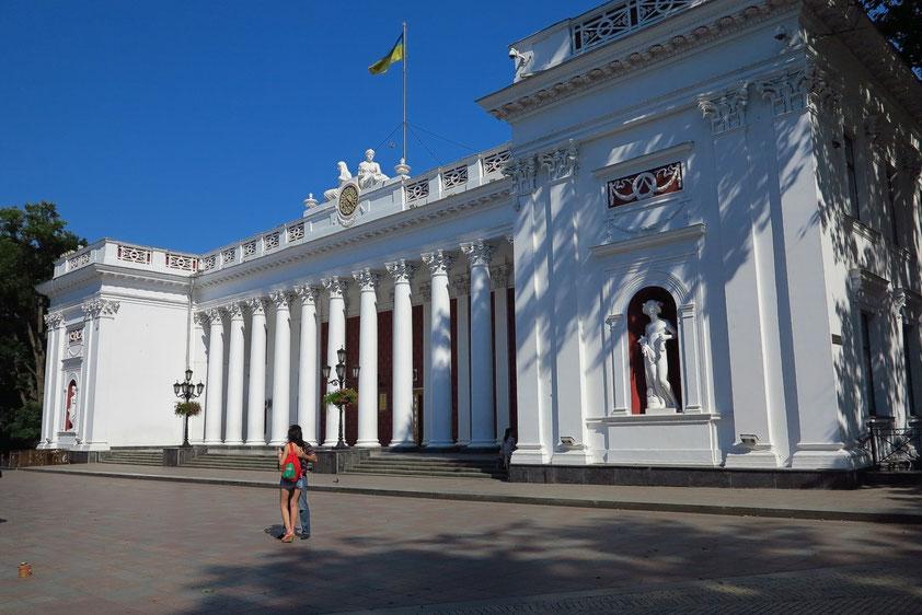Rathaus von Odessa, nach einem Entwurf von Francesco Boffo und Gregorio Toricelli, 1828-34