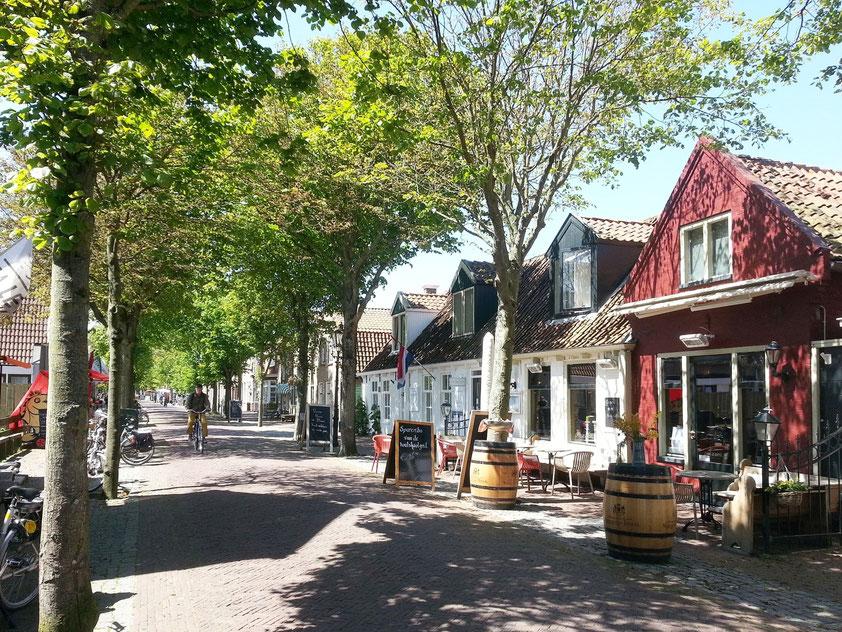 Dorpsstraat in Oost-Vlieland