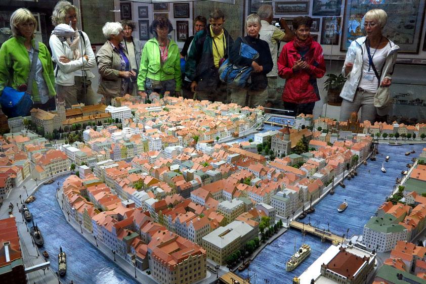 Kulturzentrum im Königsberger Dom: Modell der Altstadt