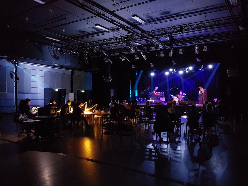 Schlagzeugprüfung im Musikhuset in Aarhus