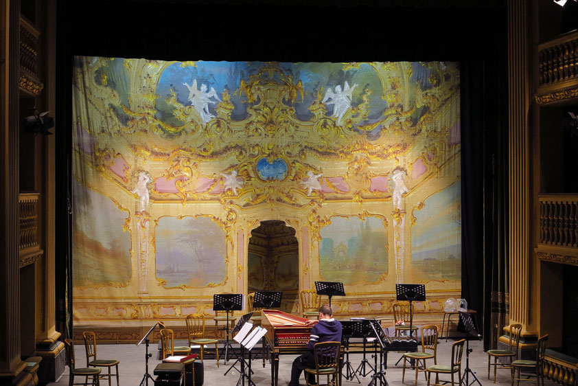 Manoel Theatre, Bühne