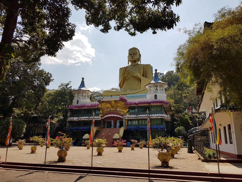 Goldener Tempel von Dambulla