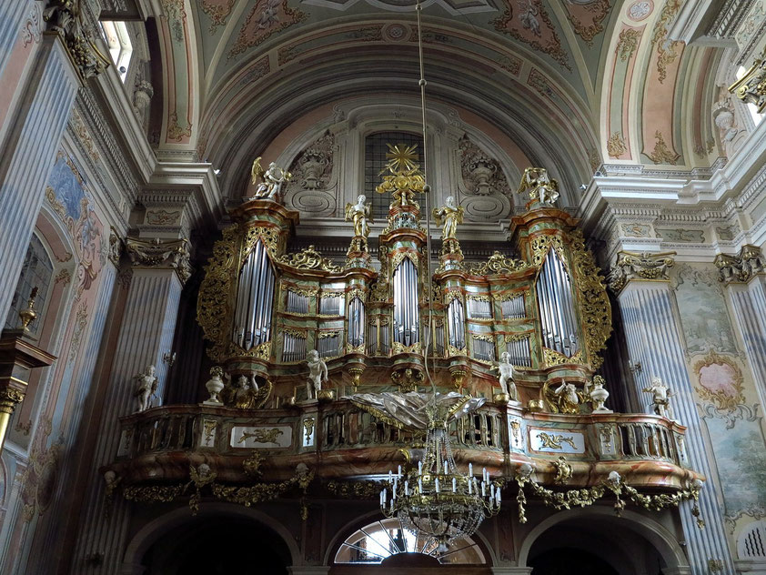 St.-Anna-Kirche. Orgel aus dem 18. Jahrhundert