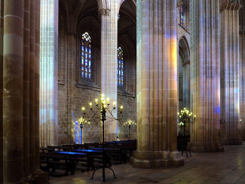 Kirchenraum von Batalha