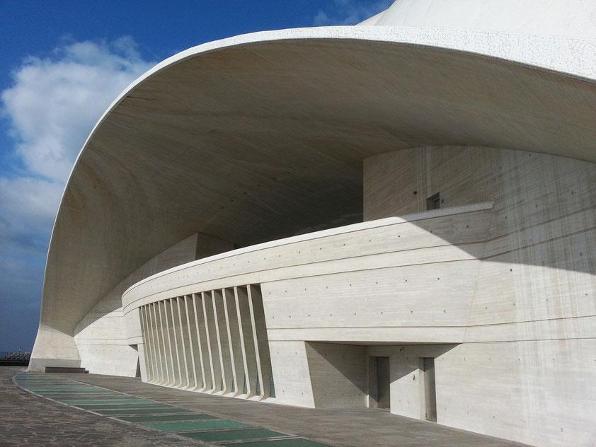 Auditorio des Tenerife, Architekt: Santiago Calatrava