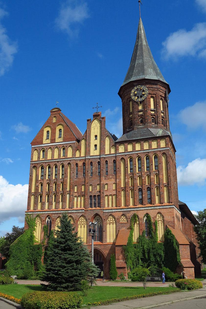 Königsberger Dom, Baubeginn 1333. Heute als Kulturzentrum genutzt