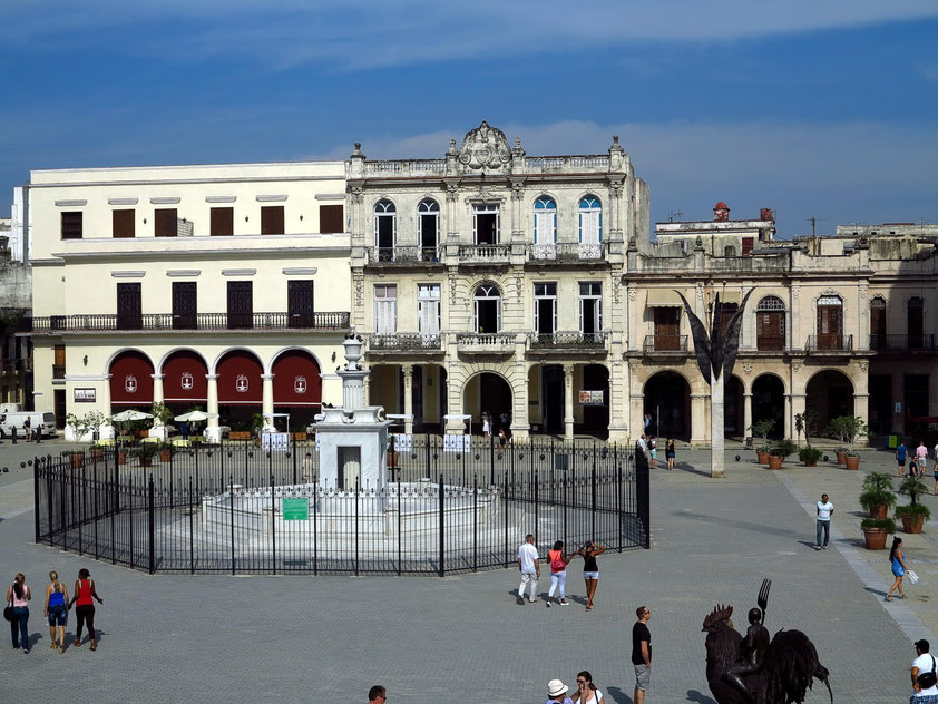 Plaza Vieja, Nordseite