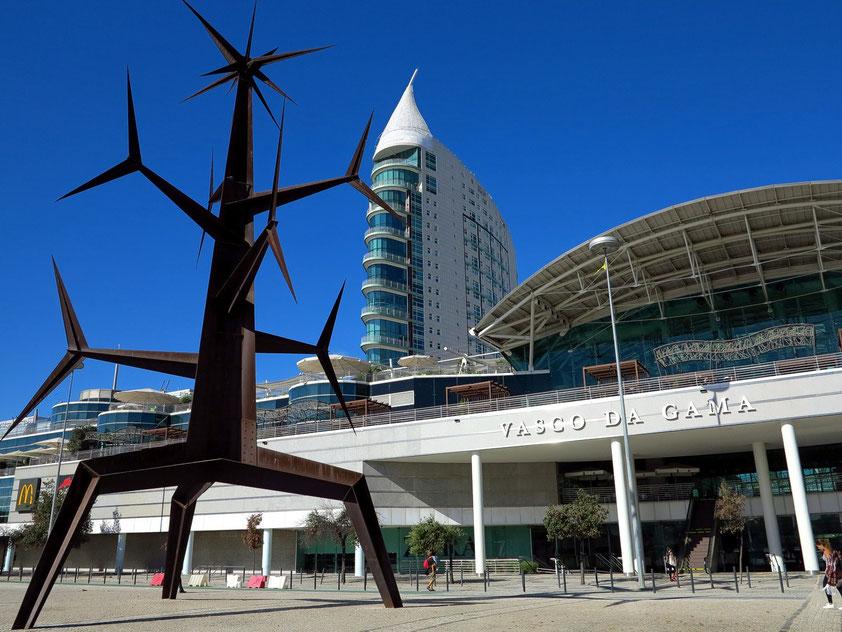 Einkaufszentrum Vasco da Gama, Ostseite