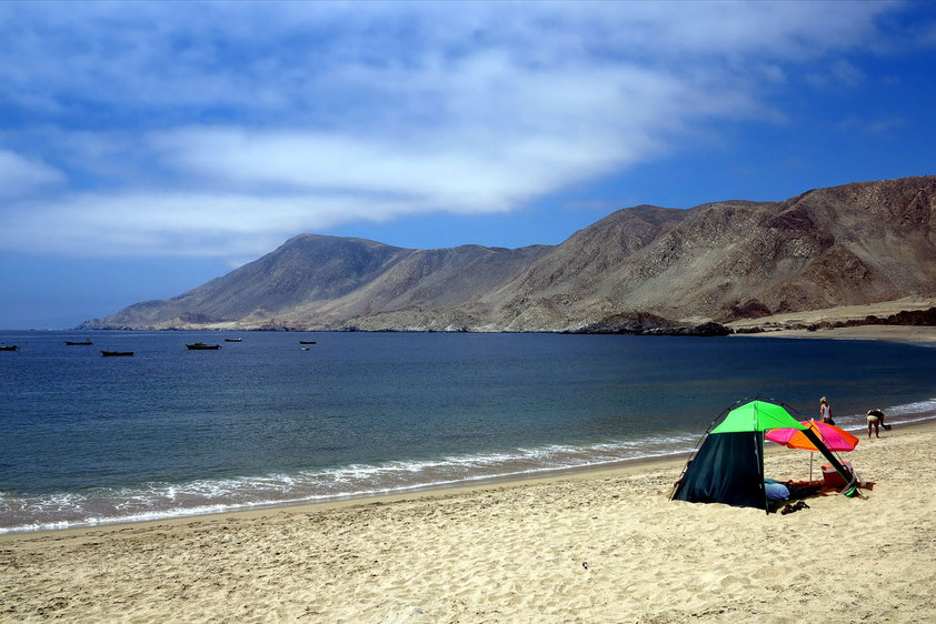 Sandstrand im Pan de Azucar Nationalpark