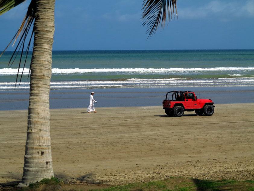 Am Strand von Maskat