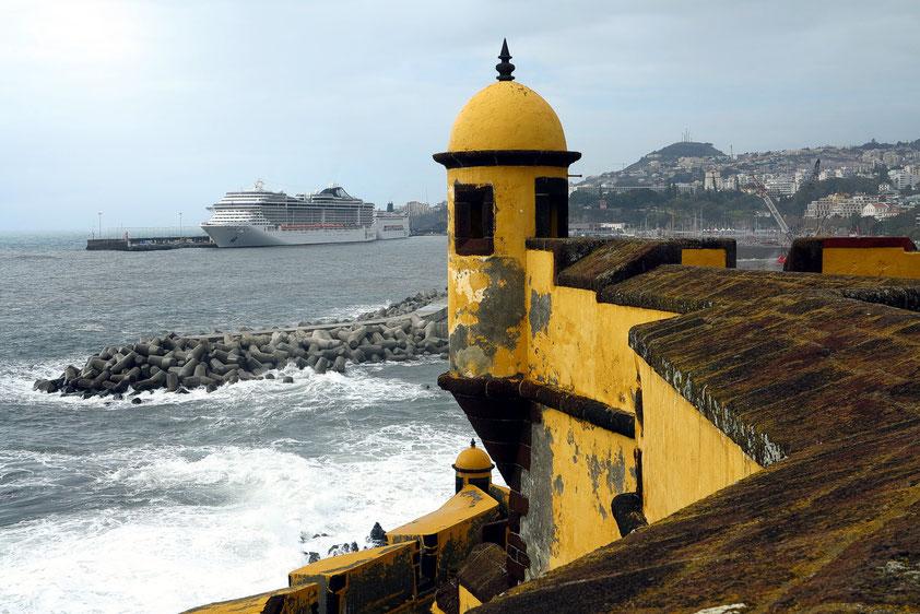 Funchal, Fortaleza Sao Tiago mit Museu de Arte Contemporanea
