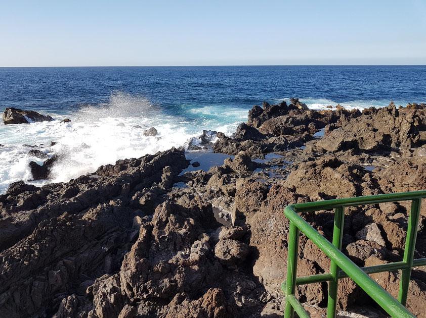 Felsenküste von Punta Brava