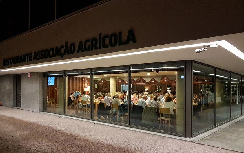 Restaurante da Associação Agrícola de São Miguel, unser abendliches Stammrestaurant in Ribeira Grande