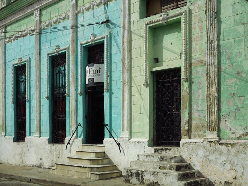 Camagüey, Häuserfassade