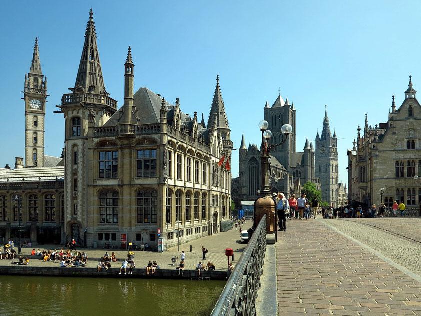 Gent, Hauptstadt der belgischen Provinz Ostflandern