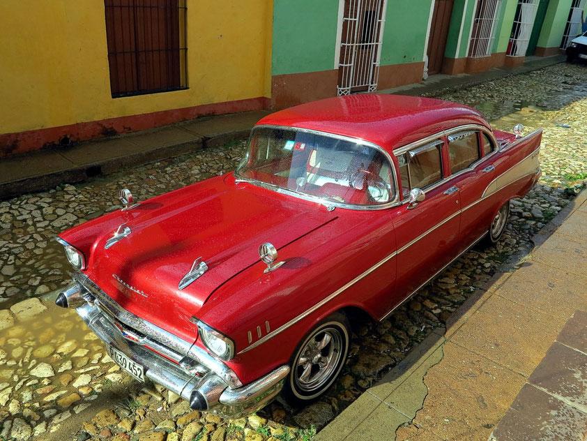 Unser Oldtimer Chevrolet BelAir von 1957