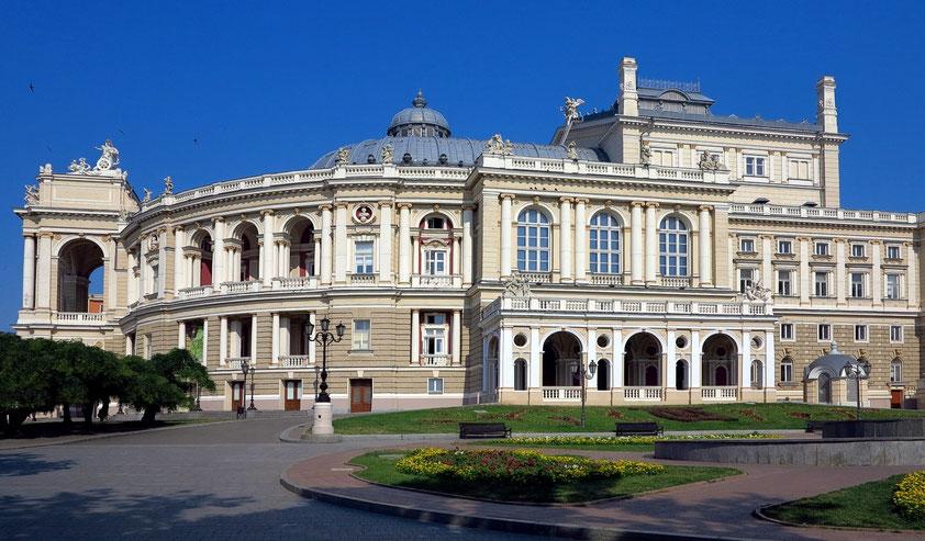 Opernhaus Odessa, Wahrzeichen des ukrainischen Schwarzmeerhafens