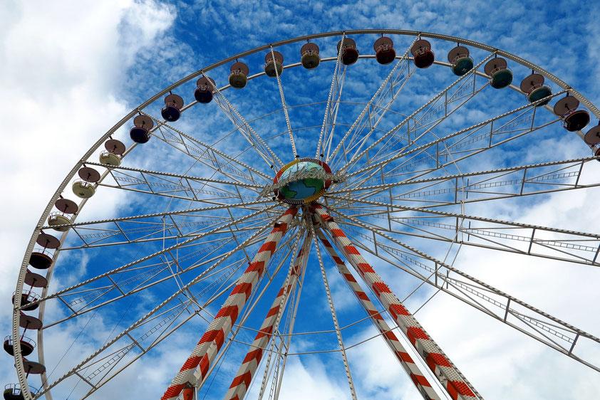 Riesenrad zur Kieler Woche